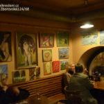 2014-Souborná výstava studentů ateliéru Malování kreslení v kavárně Sedmé nebe Praha